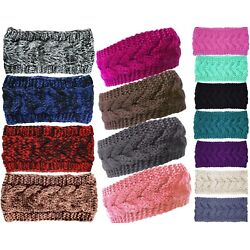 Kyпить Plain Braided Winter Knit Headband Earwarmer на еВаy.соm