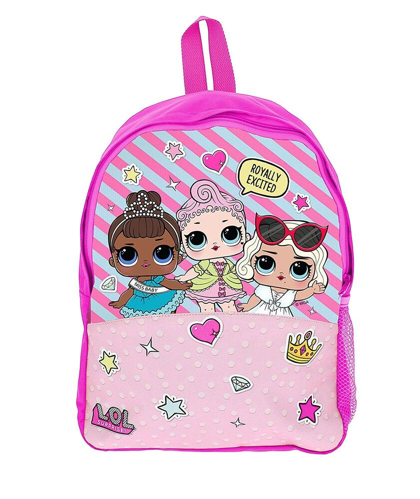 a2bc894897e9 Lol Surprise Roxy School Bag Rucksack Backpack Brand New Gift