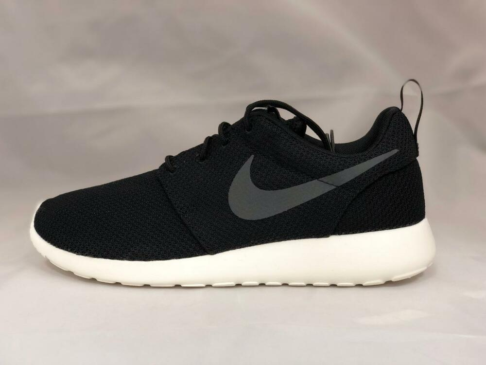 buy online 8576b 21f3f Details about NEW MEN S NIKE ROSHE ONE SNEAKERS 511881-010 BLACK  ANTHRACITE-SAIL