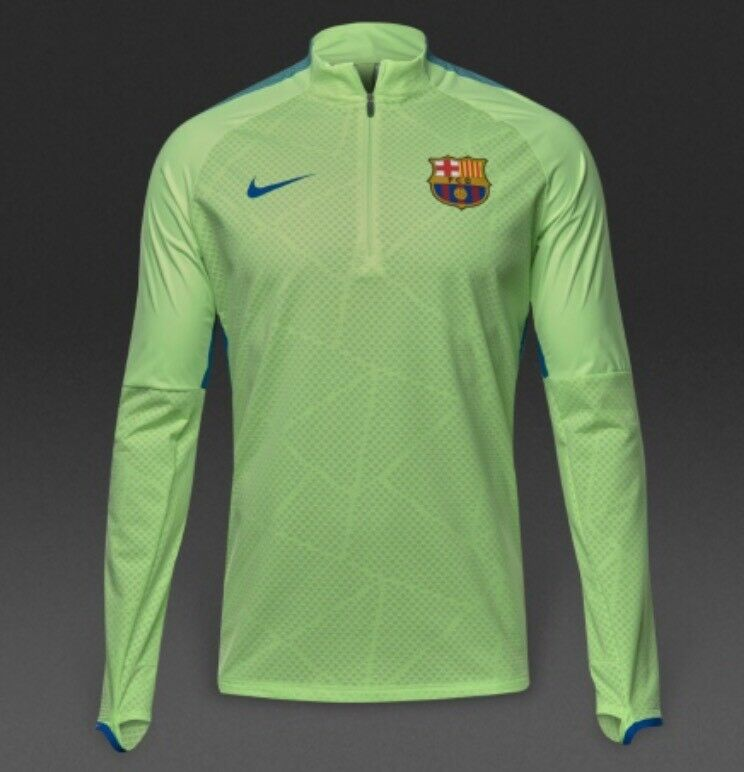 3c0e2b5ff Details about Nike FC Barcelona Shield Strike Track Drill Top - 832255 369