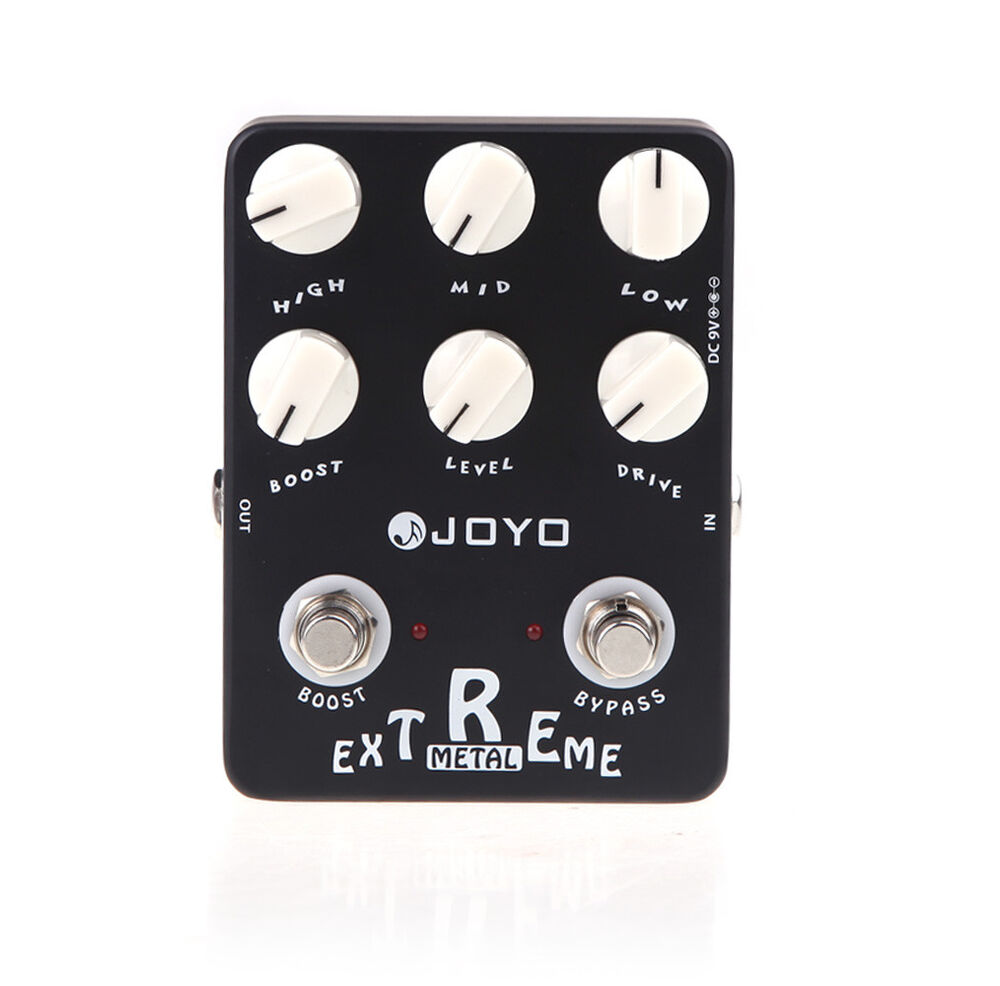 joyo jf 17 guitar effect pedal extreme metal distortion y5b1 759974648441 ebay. Black Bedroom Furniture Sets. Home Design Ideas