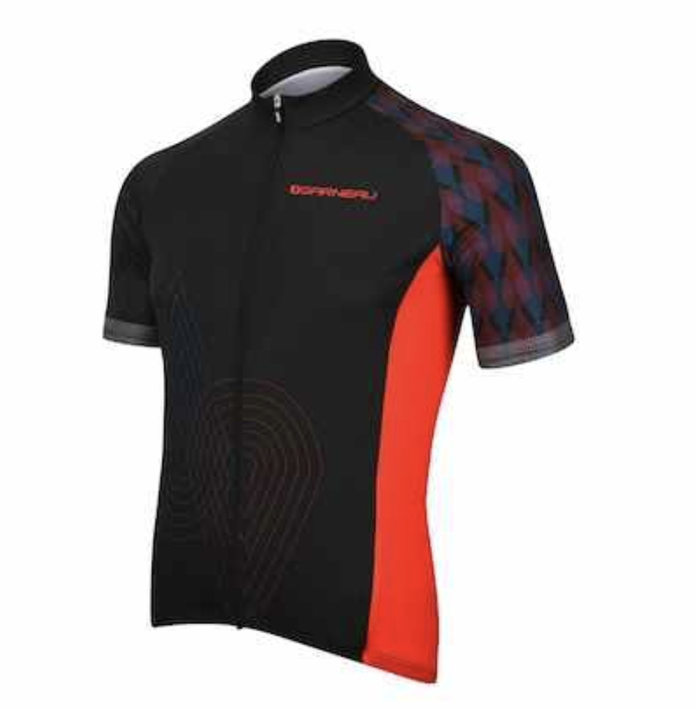 LOUIS GARNEAU (LG) Factory S S Bike Jersey   MEN S   Black Red LARGE  89.95   393fff3ad