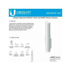 Ubiquiti Networks AM-5G16-120-US airMAX 2x2 BaseStation Sector Antenna