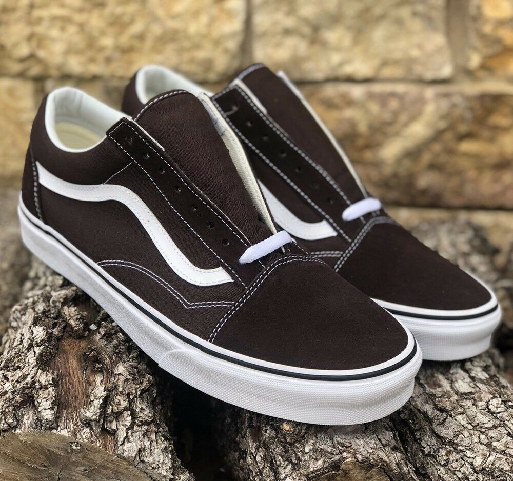 vans old skool chocolate