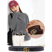 Double G ladies genuine leather classic and simple with pure cowhide Belts