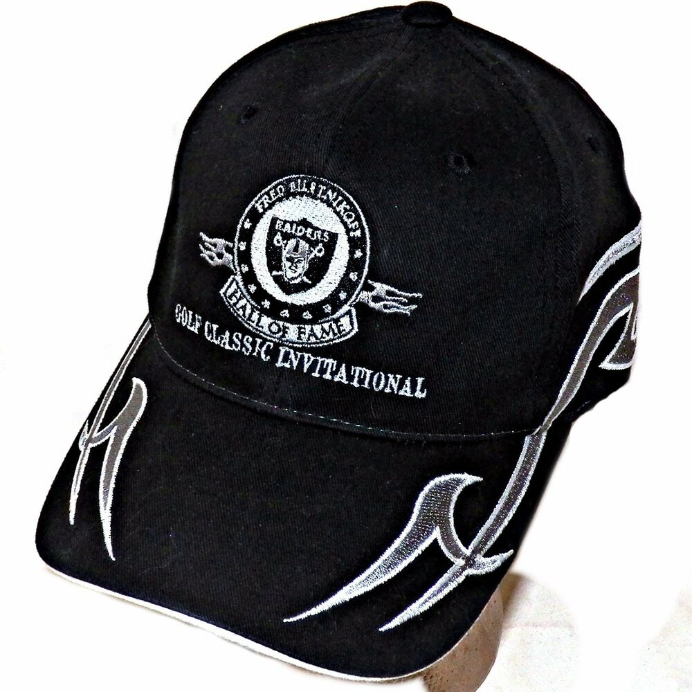 Details about Fred Biletnikoff Oakland Raiders Bud Light NFL Golf Classic  Tribal Baseball Hat 0474eb0c7a8