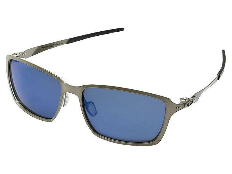 99635ec9c17db Details about Oakley Tincan Sunglasses OO4082-04 Light (Silver) Ice Iridium