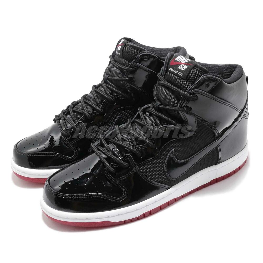 best sneakers 35f04 a2749 Nike SB Zoom Dunk High TR QS Rivals Pack BRED Men Skateboarding Shoes AJ7730 -001   eBay
