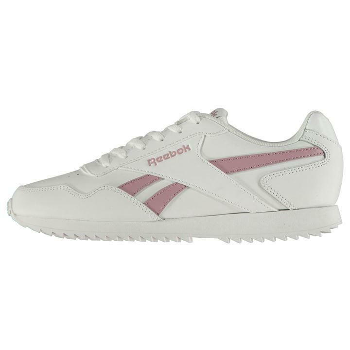 0de4873f9fd3 Details about Reebok Royal Glide Ripple Clip Trainers Ladies UK 7 US 9.5 EU  40.5 CM 26.5 2484
