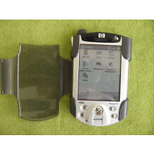 Working HP iPAQ Model h5450 'Pocket PC' PDA w/NEW battery, protective jacket