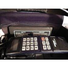 1991 Vintage Motorola US West Cellular Mobile Phone, Bag, Inst. etc, C-San Featu