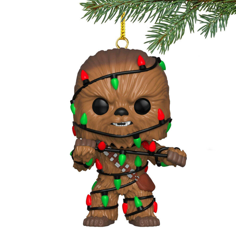 Chewbacca Christmas Ornament Star Wars Life Day Tree Decorations