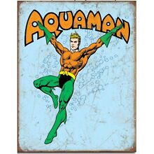 Auqaman  Metal Tin Sign Superhero Aqua Man 16