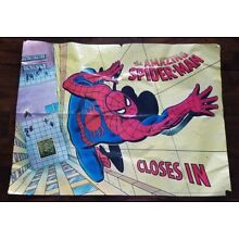 The Amazing Spider Man Closes In Vintage Poster