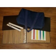 Vintage IQ TEST - The Leiter International Performance Scale Trays 2 & 3 w/ Bag