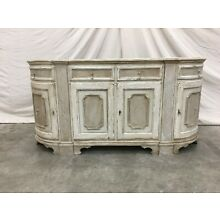 18th C Italian Painted Tuscan Credenza Sideboard