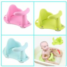New Baby Bath Tub Ring Seat Infant Child Toddler Kids Anti Slip Safety Chair L L