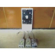 LOT OF 4  ALCATEL NS273 SINGLE LINE WALL PHONE PLATE WITH ADSL FILTERS