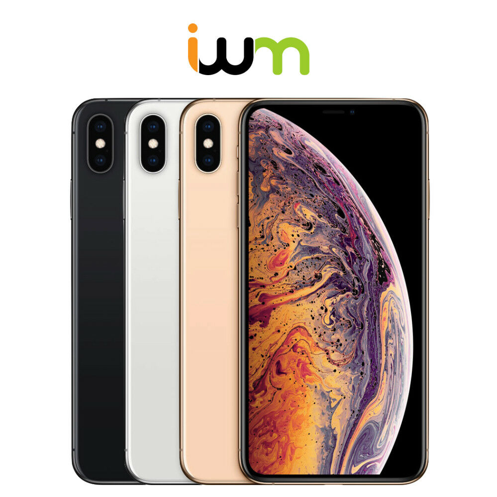 apple iphone xs max 64gb 256gb 512gb unlocked or at t. Black Bedroom Furniture Sets. Home Design Ideas