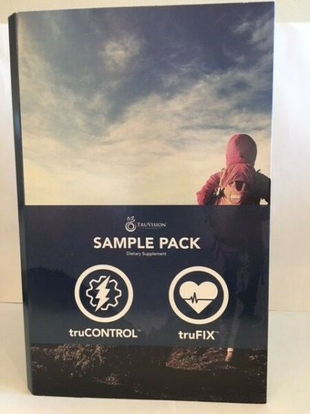 NEW! TruVision Health 1 WEEK DIET-TRUFIX CONTROL (30 ct) ENERGY and WEIGHT-LOSS