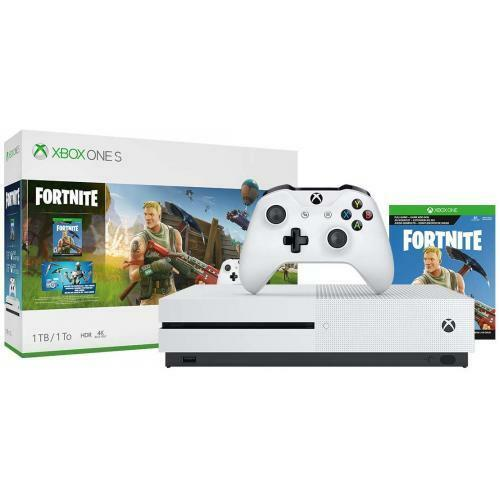Xbox One S 1TB Fortnite Bundle  -  Full-game download of Fortnite Battle Royale