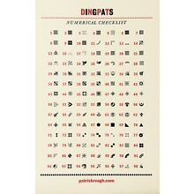 New Letterpress Type- 12 point Ornaments and Dingbats. Many to choose from.