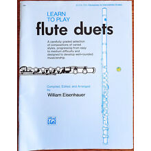 Learn to Play Flute Duets Book One Elementary to Intermediate Grades Sheet Music