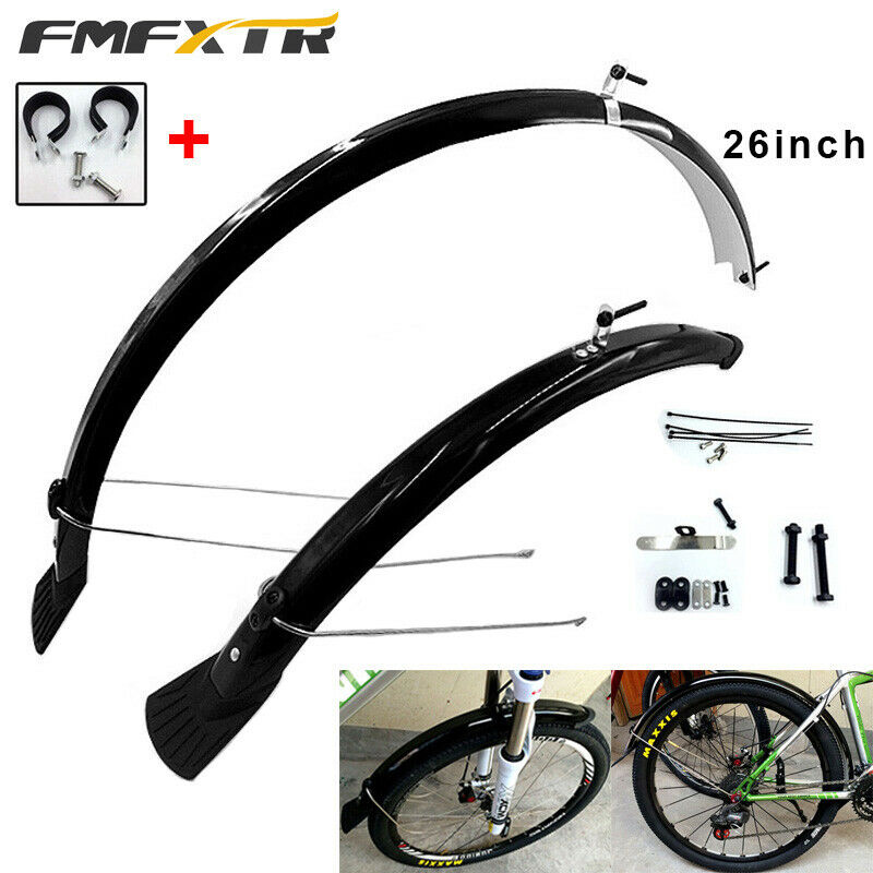 06eb7a295ab Cycling Bicycle Bike Mud Guard Front Rear Mudguard Fenders 2X MTB Race  Equip Specialized Bike Accessories