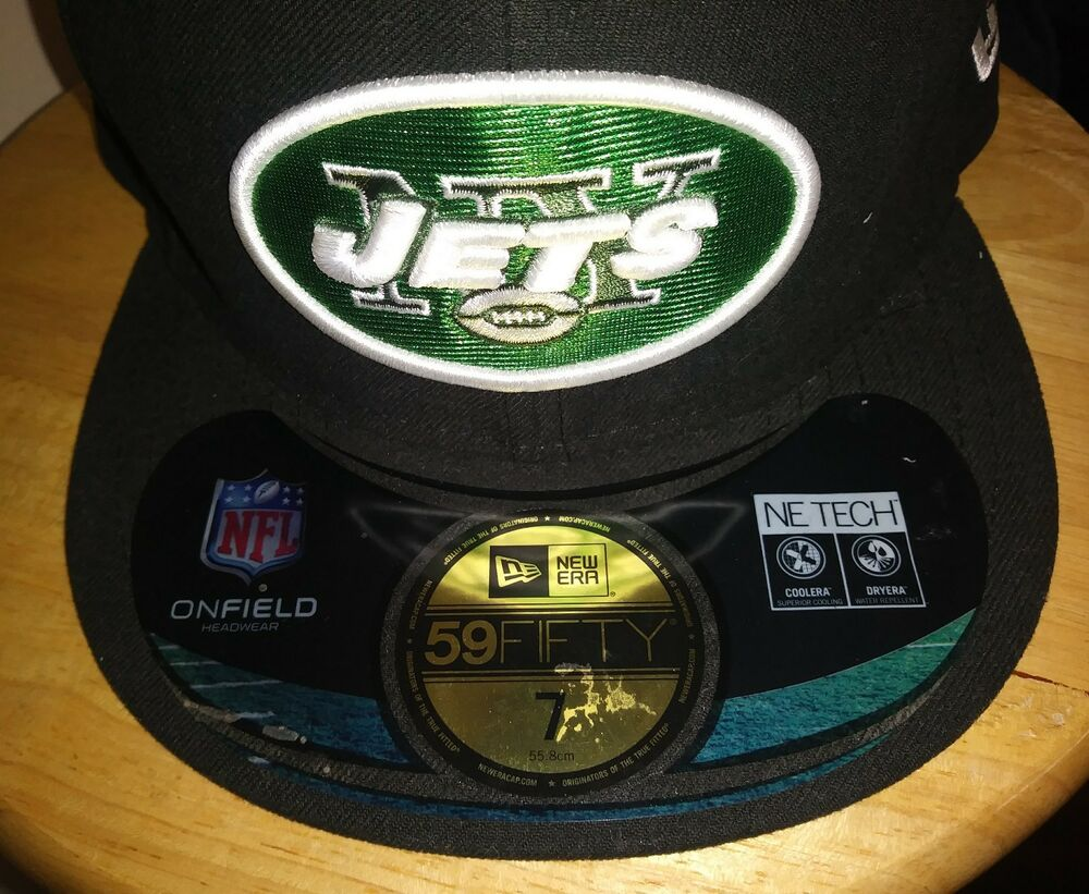 Details about New York Jets Cap NFL On Field NY Hat New Era Custom 5950  Mens Size 7 USA New 8a106d920