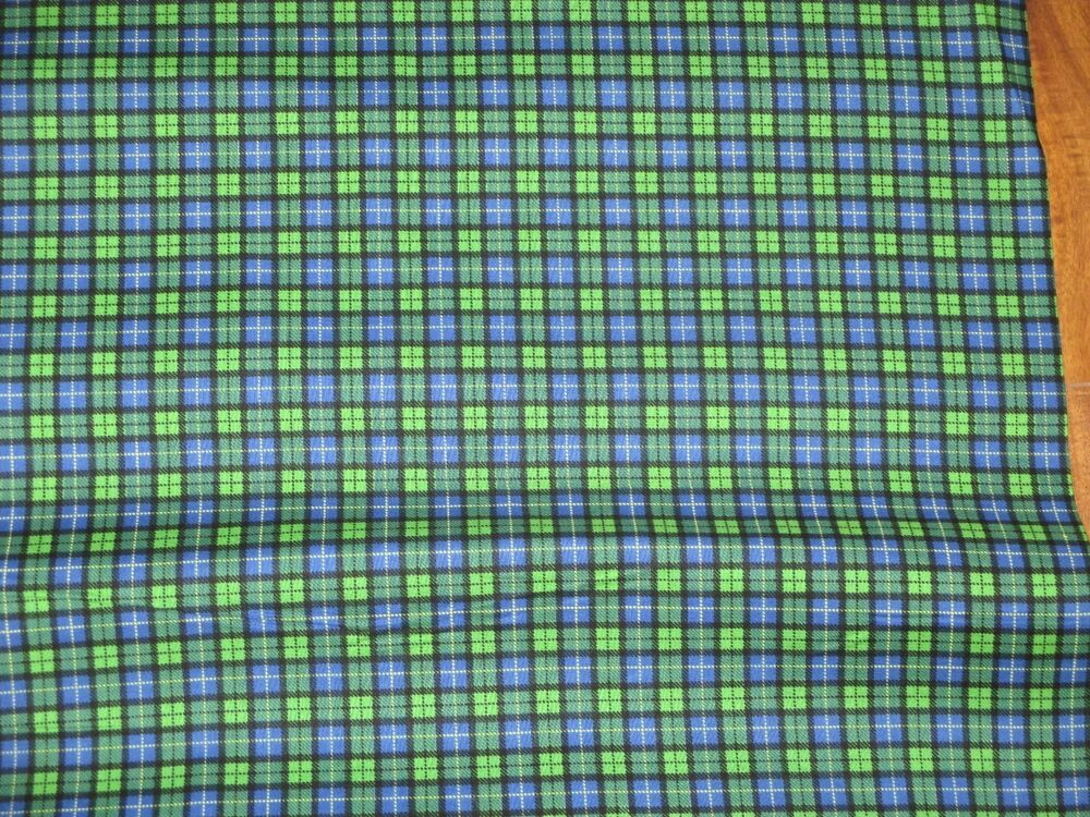 0725149380 Details about JOHN DEERE TRACTOR fabric JOHN DEERE black watch plaid  CP20586 BTY NEW