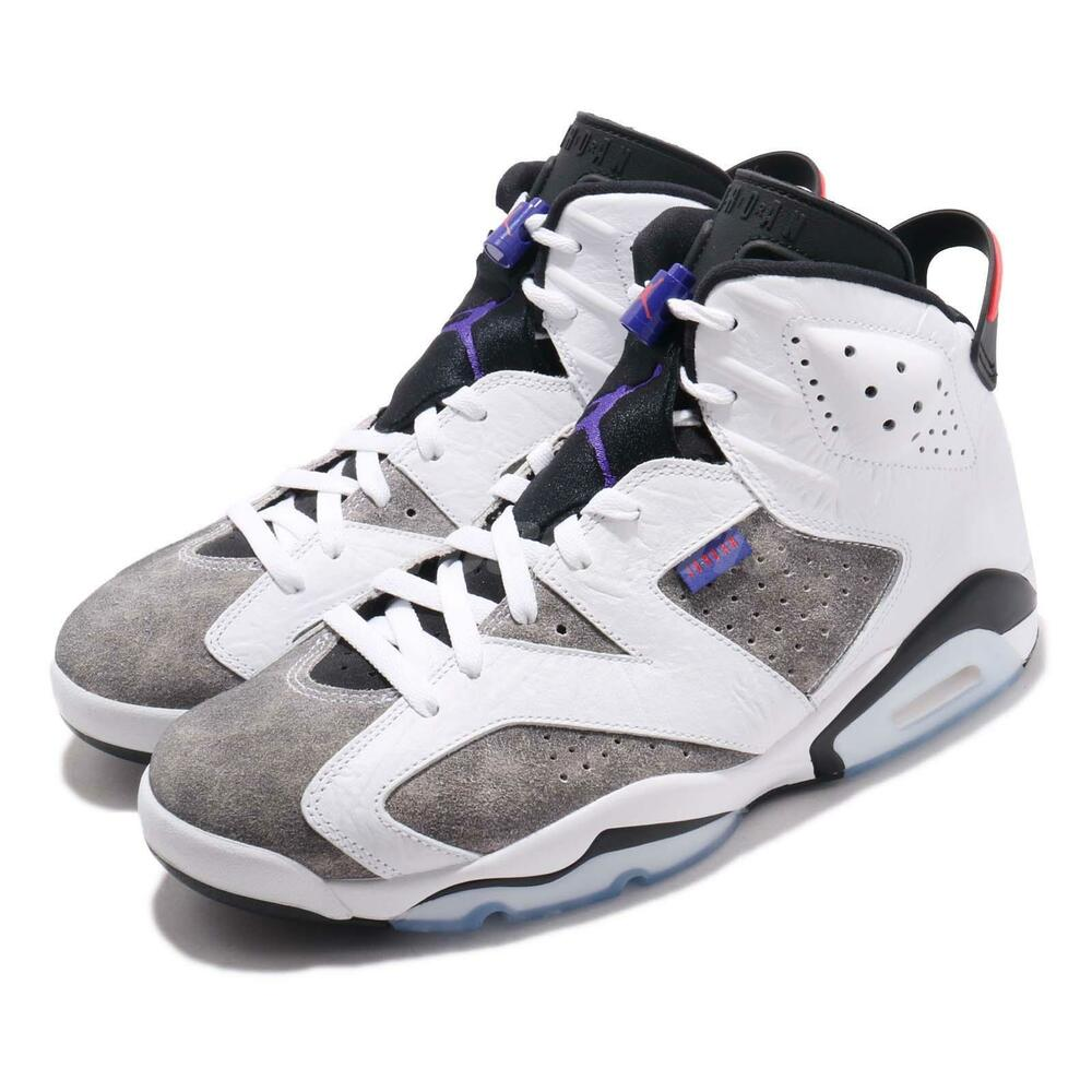 buy popular f146b e17c3 Nike Air Jordan 6 Retro VI AJ6 Flint White Infrared 23 Men Shoes CI3125-100    eBay