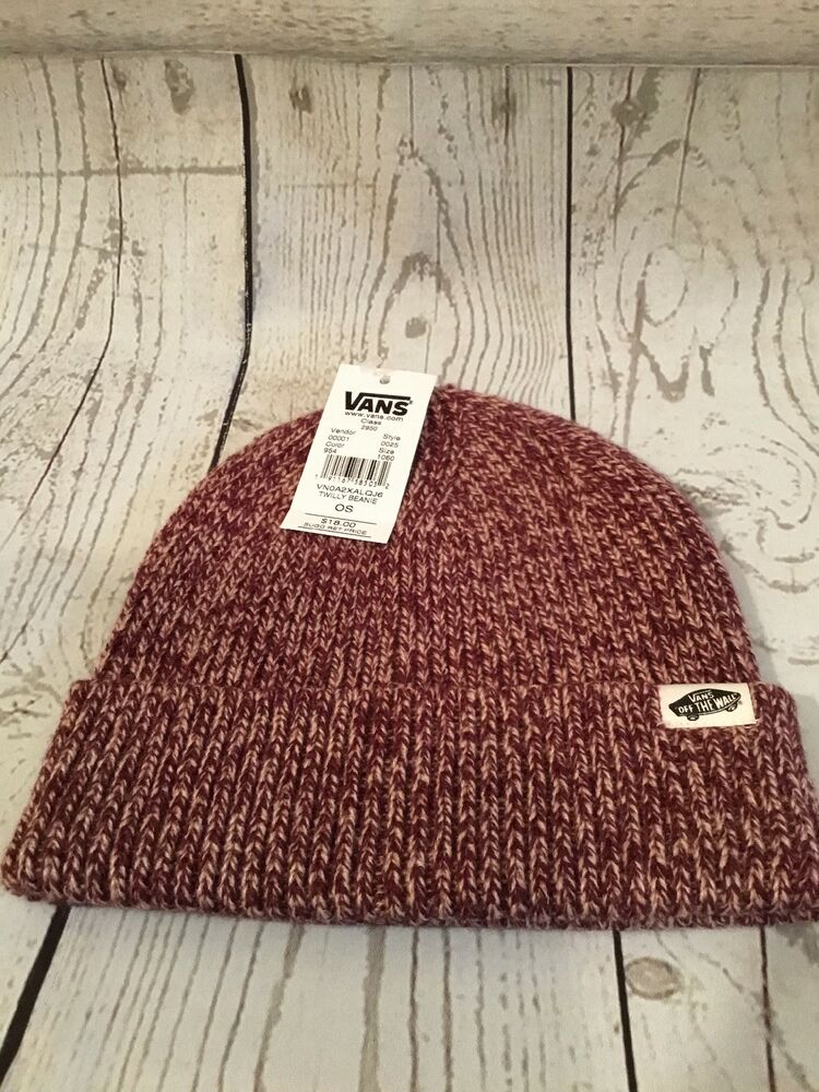 8568df75a5e6a Details about Vans Twilly Port Woven Beanie