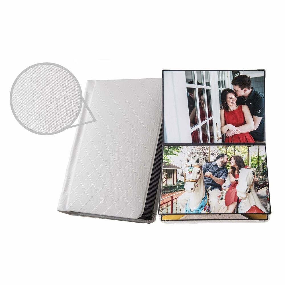 Photo Books Lay Flat: Photo Album Book With Peel-and-stick Pages & Lay-flat