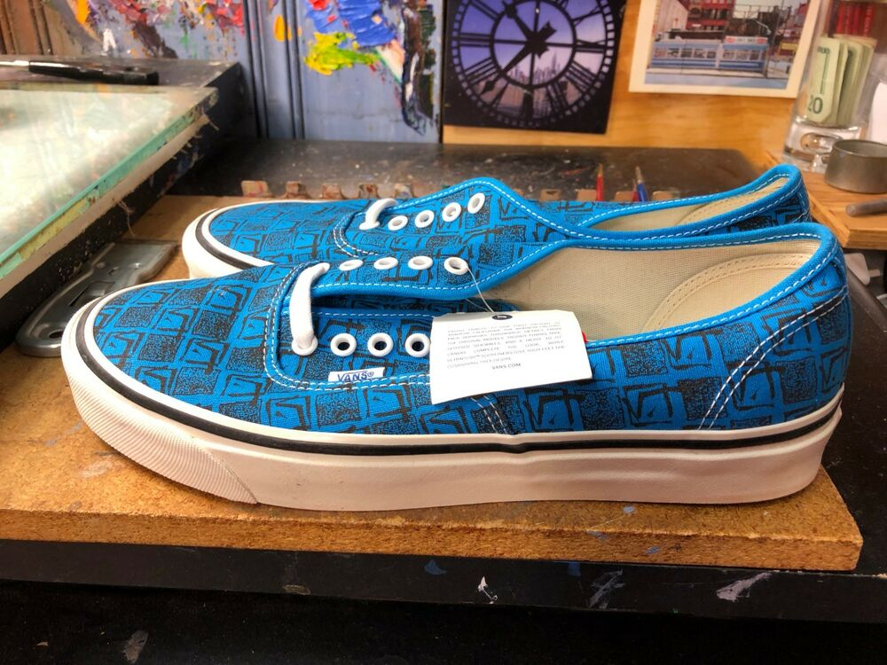 e07c57c4b011d2 Details about Vans Authentic 44 DX (Anaheim Factory) Bright Blue Size US  11.5 Men VN0A38ENU69
