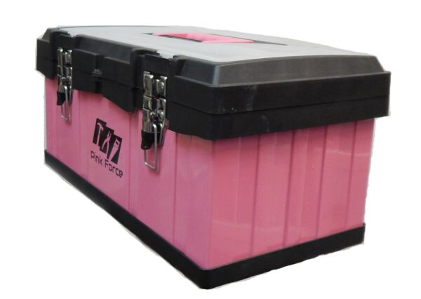 Ladies Pink Toolbox, Metal Heavy Duty, Brand New, Sale With FreeDelivery
