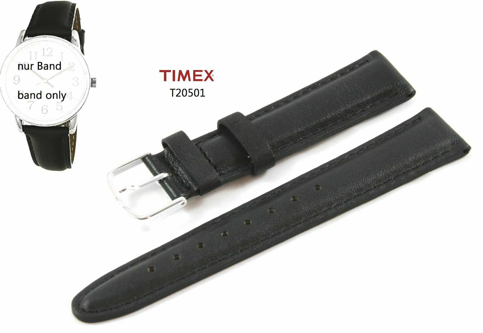 UPC 753048002948 product image for Timex Replacement Band T20501 Easy Reader Classics - Spare 0 23/32in Universal | upcitemdb.com