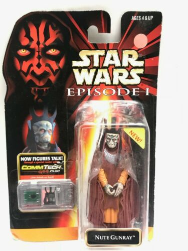 BLISTER STAR WARS FIGURINE NUTE GUNRAY - EPISODE 1