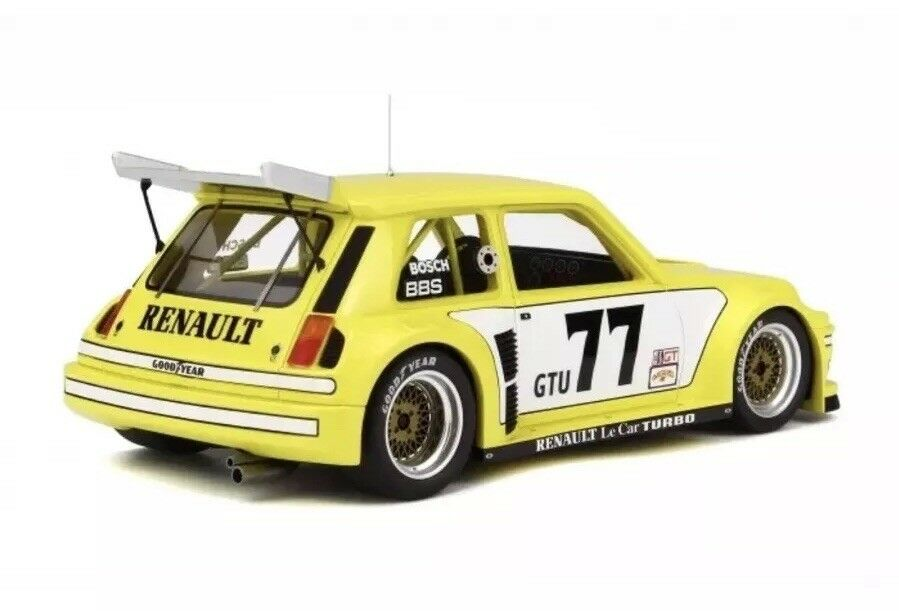 Details About New 1 18 Otto Renault Turbo R5 Le Car Imsa Yellow 77 M3 911 2 000pcs