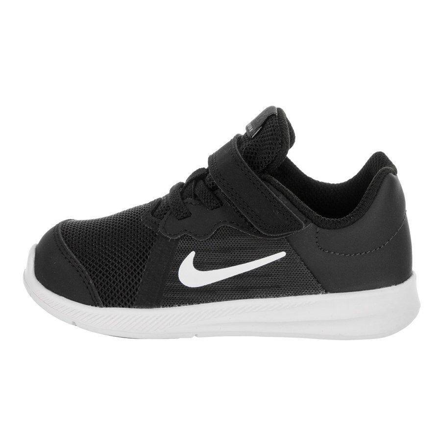 on sale 9a36d 5ad77 Details about Nike Boy s Downshifter 8 (TDV) Running Shoes ( Black White)    922856-001