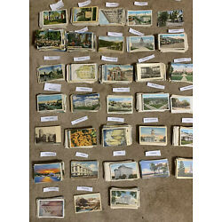 Kyпить Used & Unused. Lot of 50+ USA Vintage Postcards,1900- 1950s.We ❤️ Our Customers! на еВаy.соm