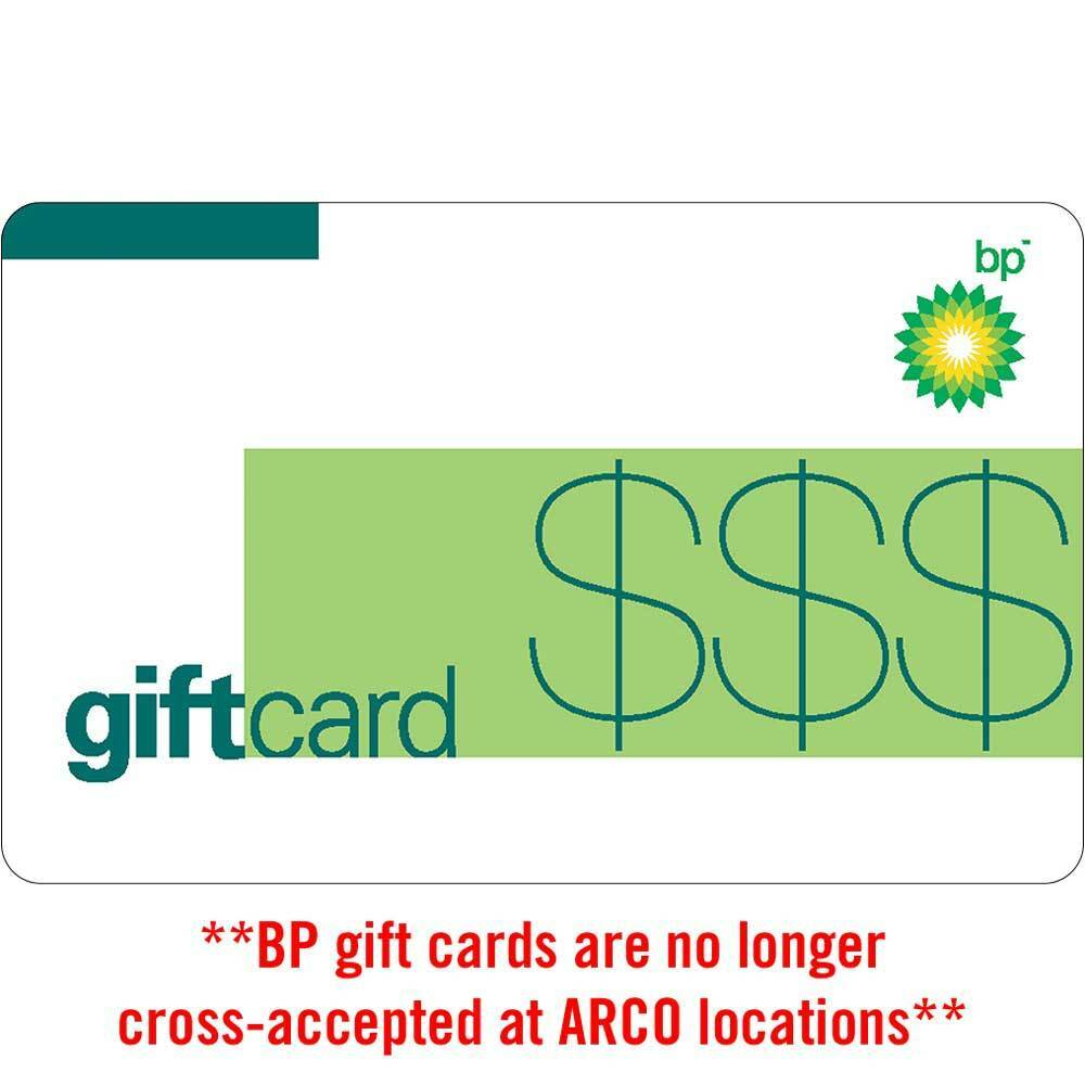 $100 BP Gas Physical Gift Card For Only $95 - FREE 1st Class Mail Delivery