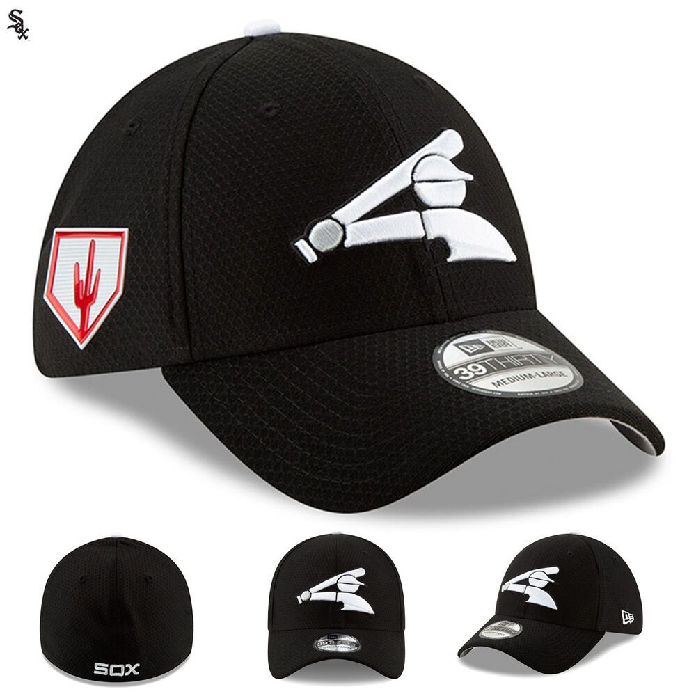 wholesale dealer 04aeb 05fed Details about Chicago White Sox 2019 MLB Spring Training New Era Hat Cap 39THIRTY  Fitted NWT