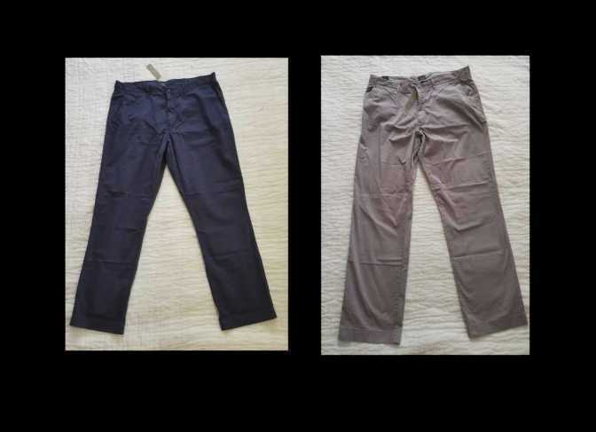 6ace3f1c2a1be7 Details about MEN'S 35x32 J CREW 1040 ATHLETIC FIT LIGHTWEIGHT GARMENT DYED  STRETCH CHINO PANT
