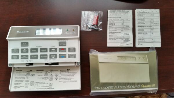 Brand New Honeywell T8600C 1196 Chronotherm III Thermostat  Free USPS Priority!!