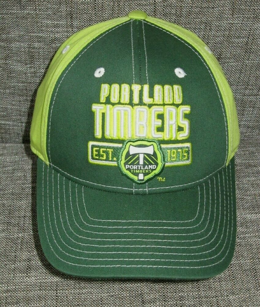 bf541cc2f85 ... closeout details about portland timbers football club green mls soccer  hat team baseball cap one size