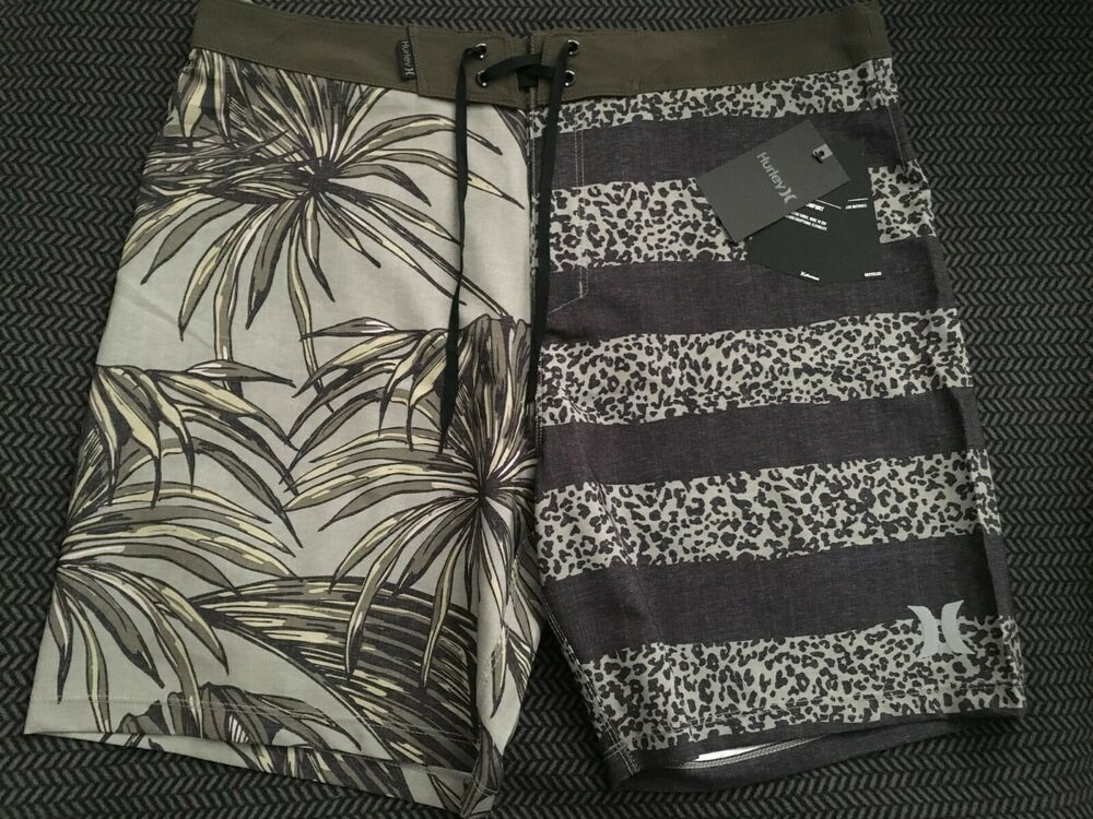 9e3440a85d Details about Hurley Phantom Men's Board Shorts Trunks Sz 33 MSRP $65 Tiger  Floral NWT 18