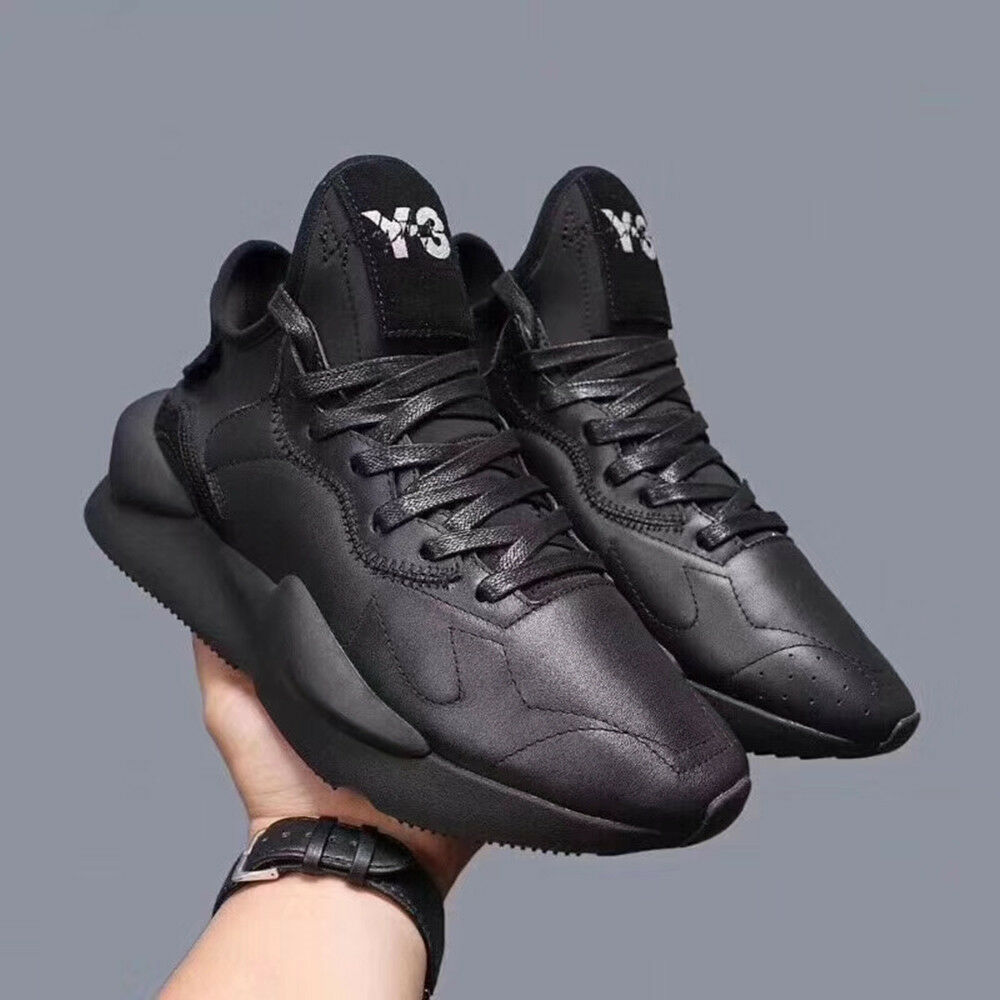 3a3069254 Details about NEW All Black Y3 Qasa High Yohji Yamamoto Kaiwa Boost Men s  Boost Trainers Shoes