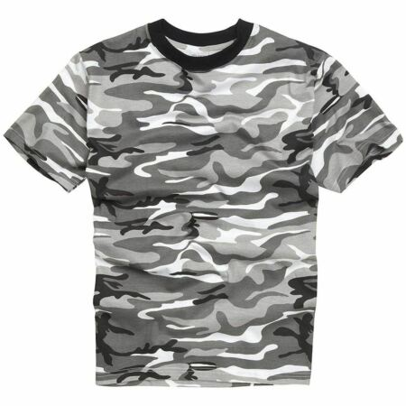 img-Mens Army Military Style T shirts Cotton Tee Short Sleeve Top Urban White Camo