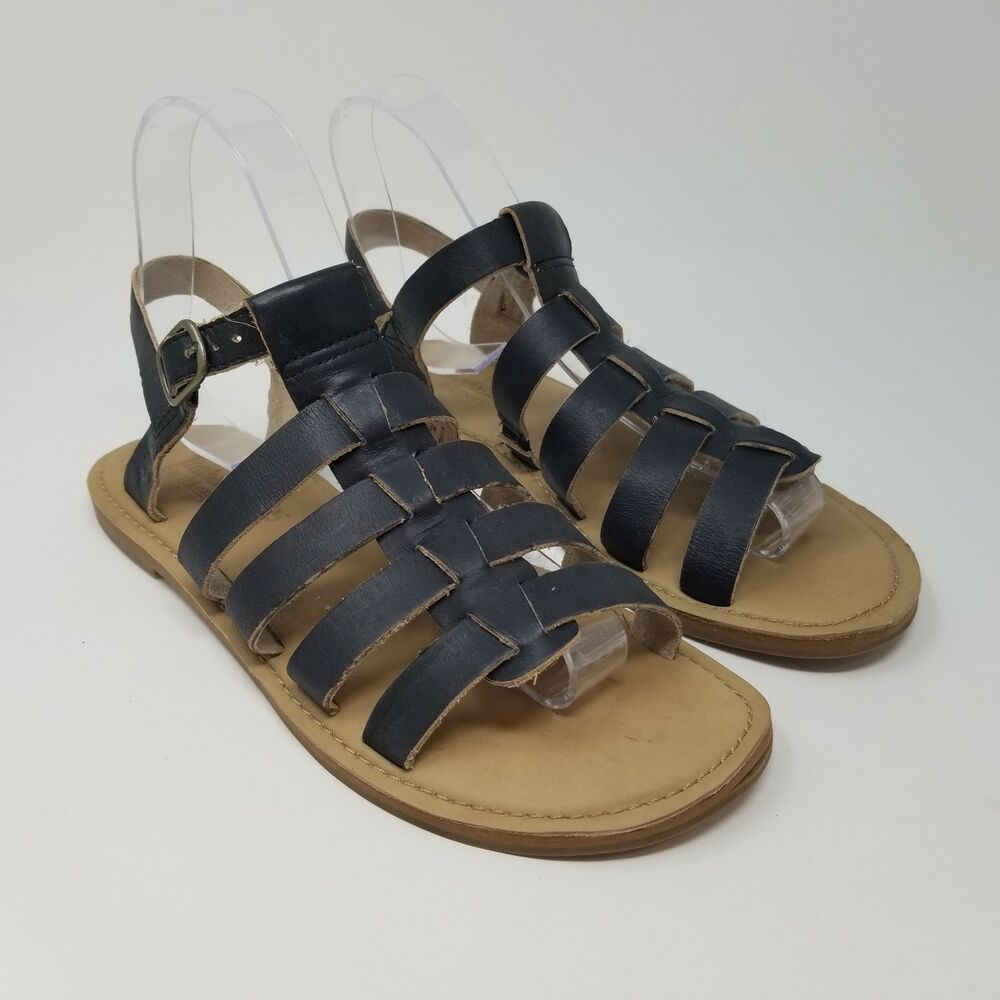 69976fc44df Details about Women s Timberland Shoes Earthkeepers Sandals Gladiator Size  7 Black
