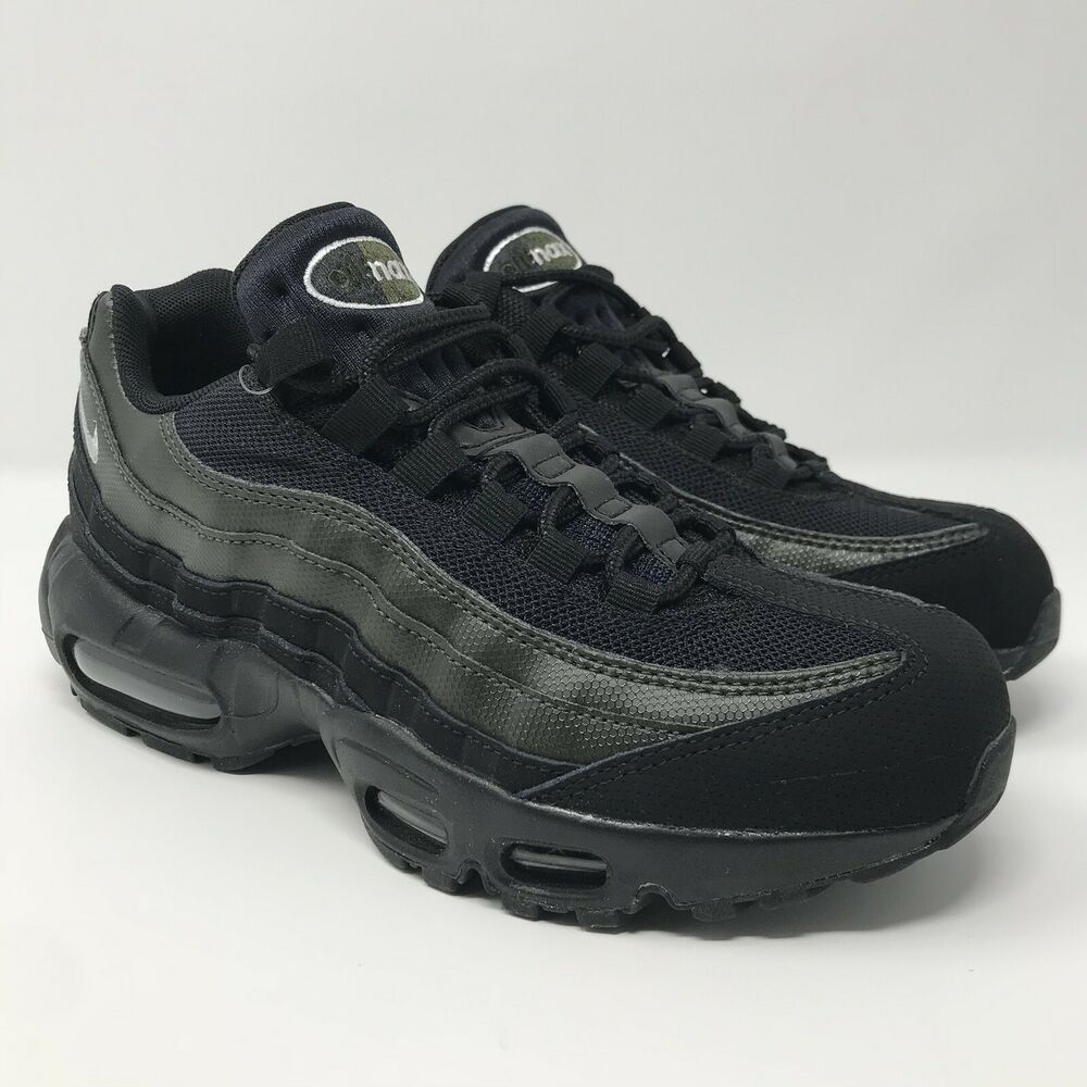 6f40dac583ea Details about Nike Air Max 95 Essential Black Sequoia 749766-034 Size Mens  6.5   Women s 8 NEW